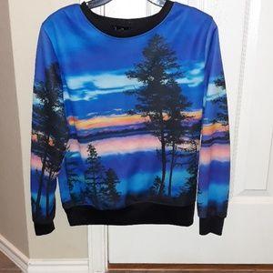 Multi-color pullover
